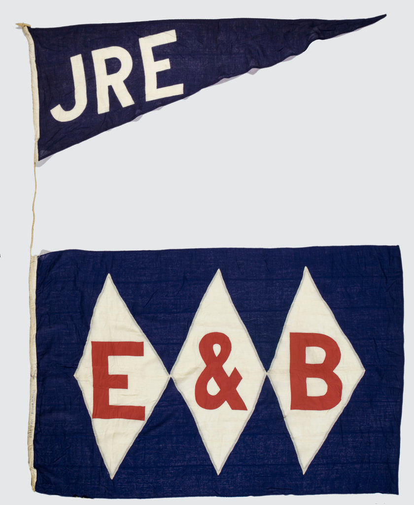 Detail of House flag, Ellerman and Bucknall Steam Ship Co. Ltd by unknown