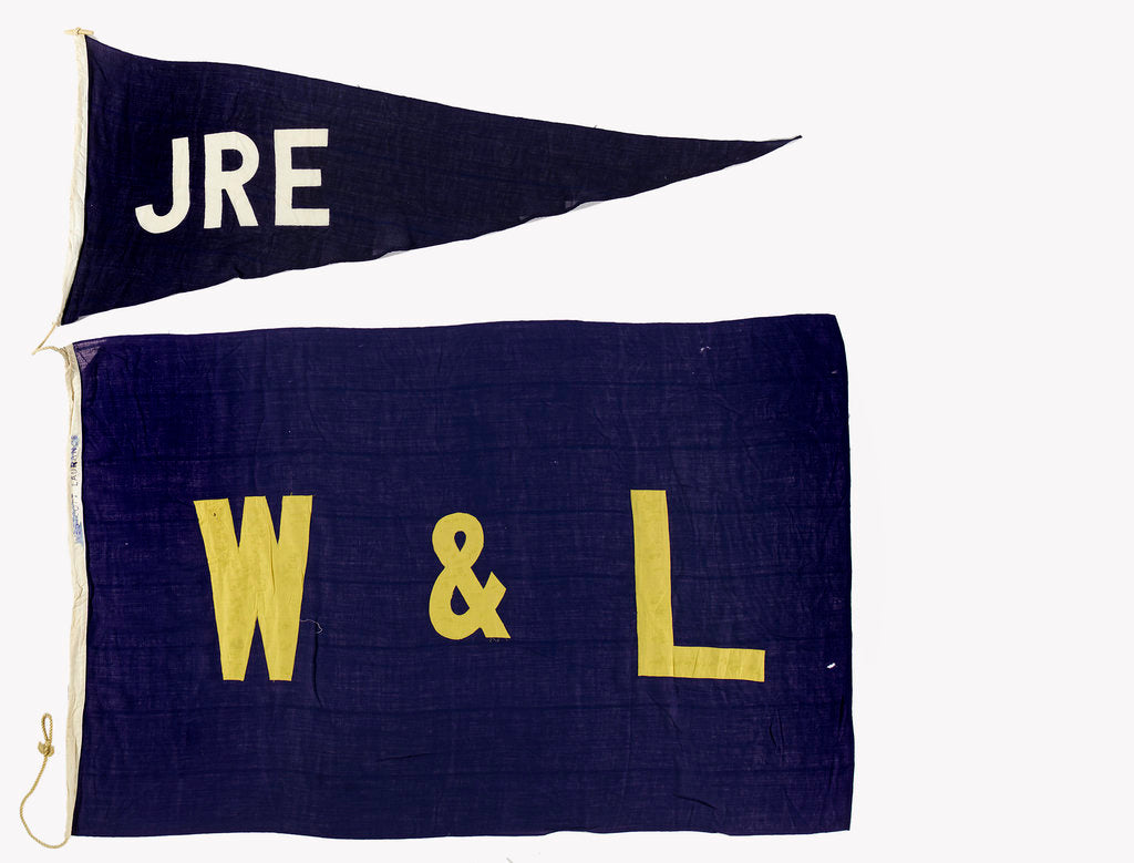 Detail of House flag, Westcott and Lawrence Line Ltd by unknown