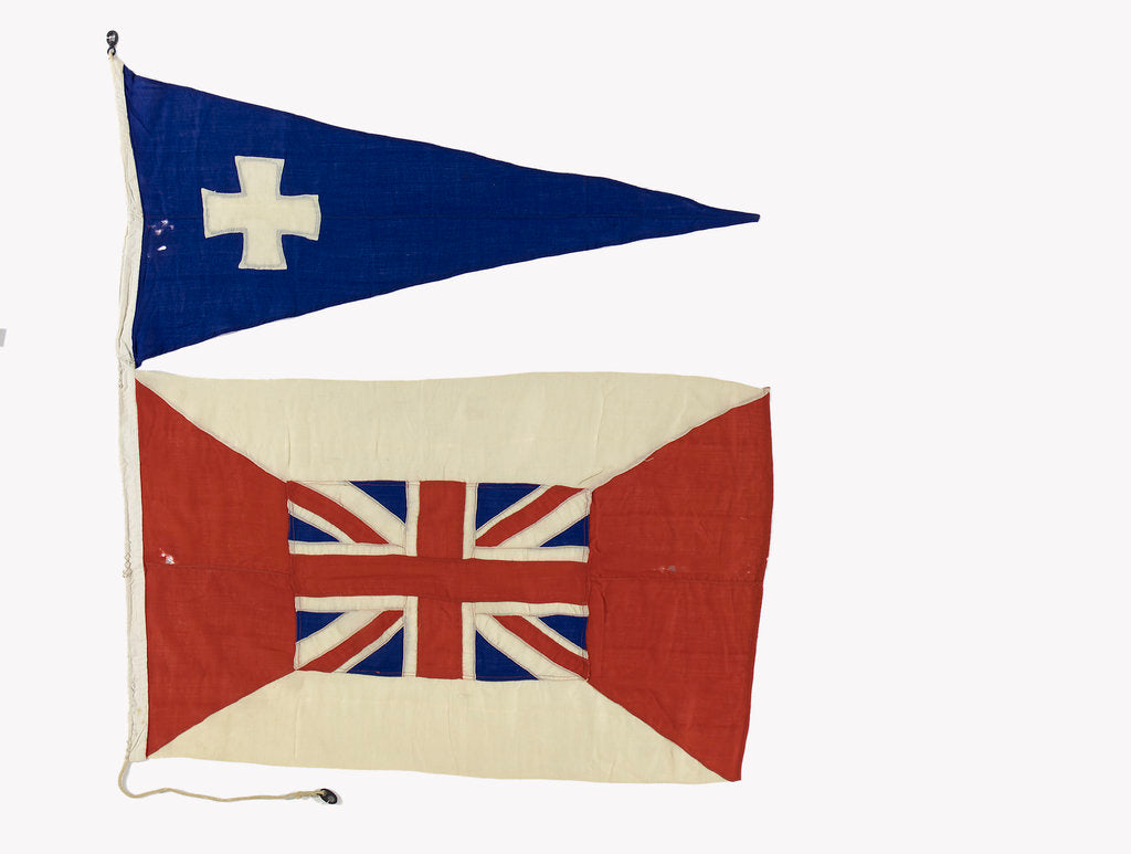 Detail of House flag, Glen Line Ltd by unknown