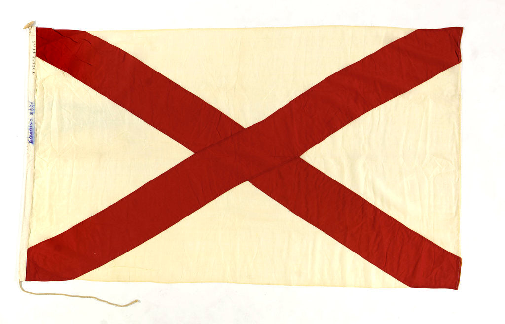 Detail of House flag, C. T. Bowring & Co. Ltd by unknown