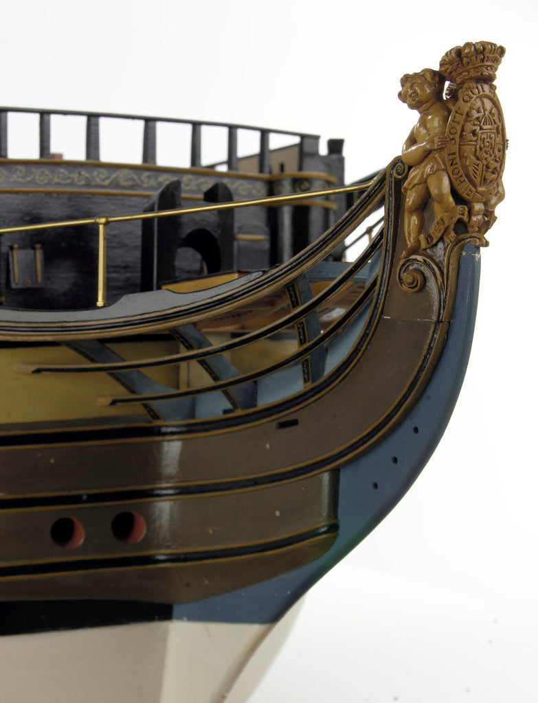 Detail of 'Victory', figurehead by unknown