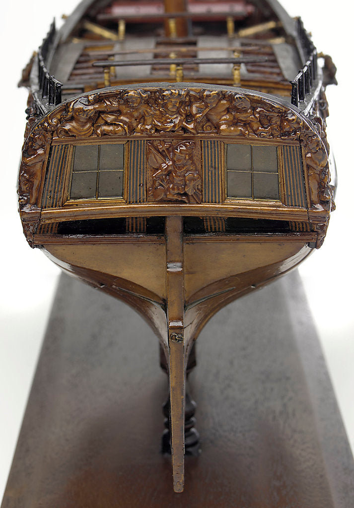 Detail of 'Bolton', full stern by unknown