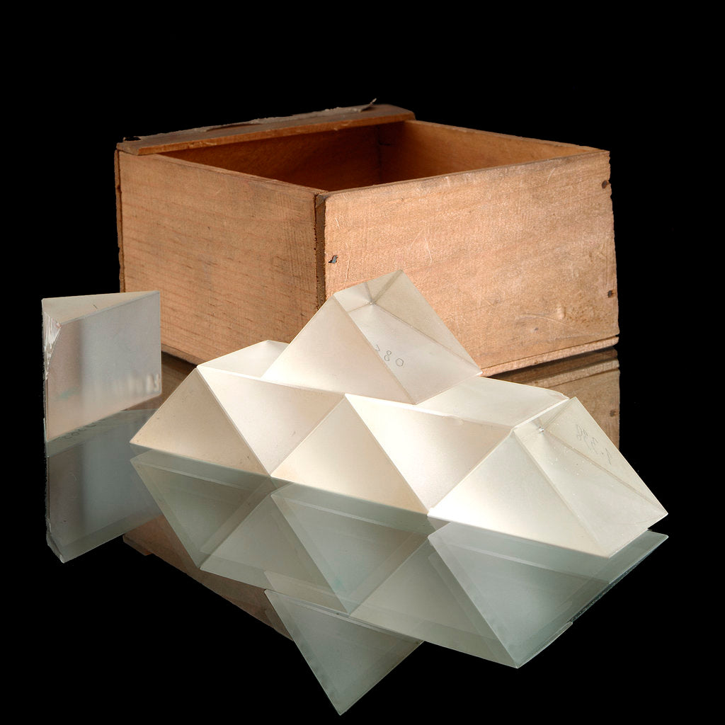 Detail of Prisms and box by unknown