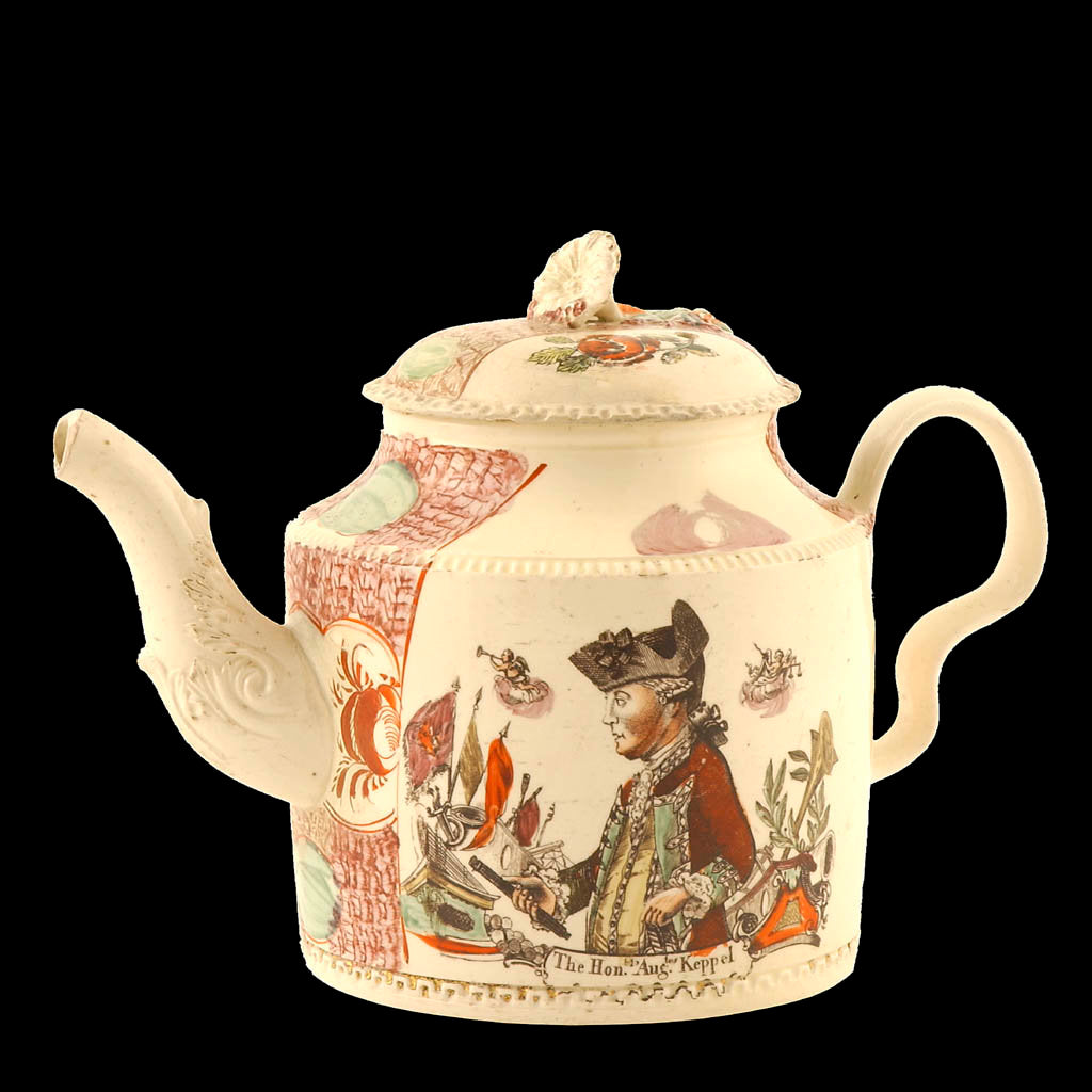 Detail of Teapot by William Greatbach