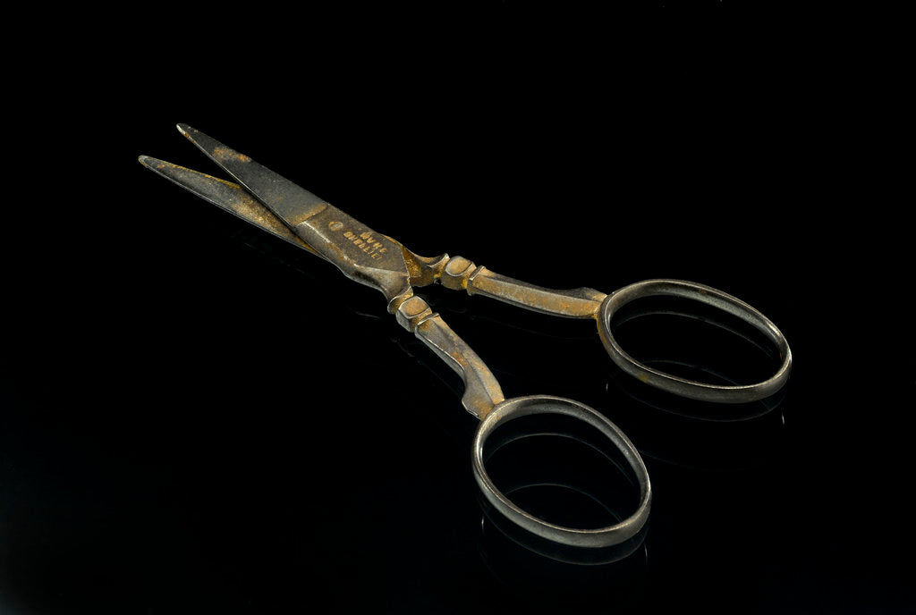 Detail of Scissors by unknown