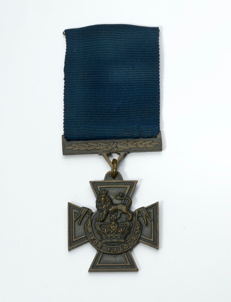 Detail of Victoria Cross, obverse by Hancocks & Co