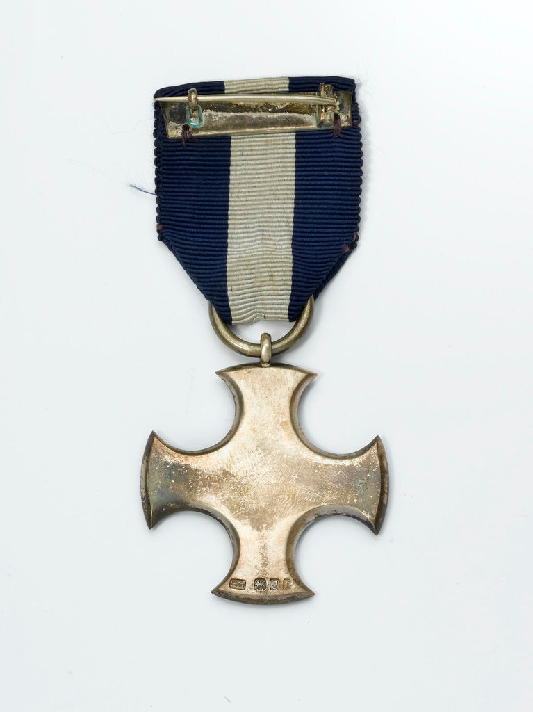 Detail of Distinguished Service Cross, reverse by Garrard & Co.