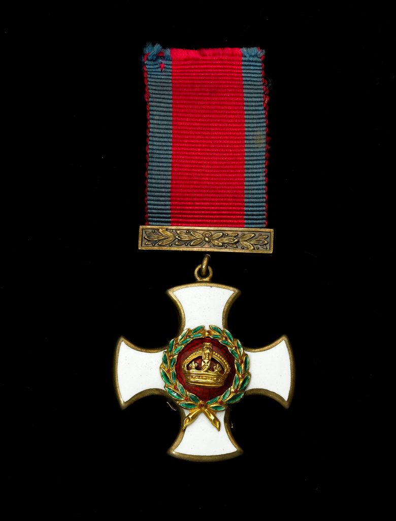 Detail of Distinguished Service Order 1910-1936, obverse by Garrard & Co.
