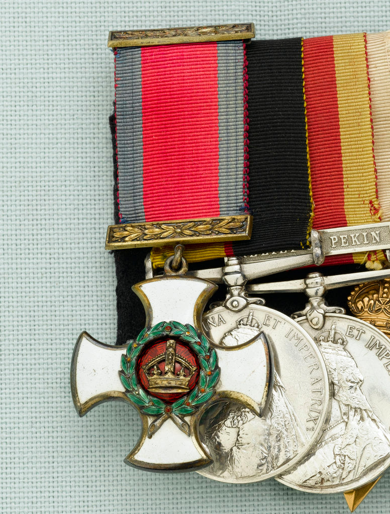 Detail of Distinguished Service Order 1886-1901, obverse by W. Wyon