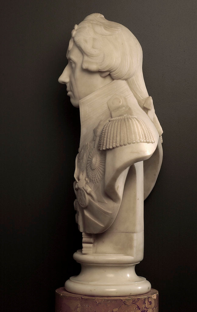 Detail of Bust of Vice-Admiral Horatio Nelson (1758-1805) by John Flaxman