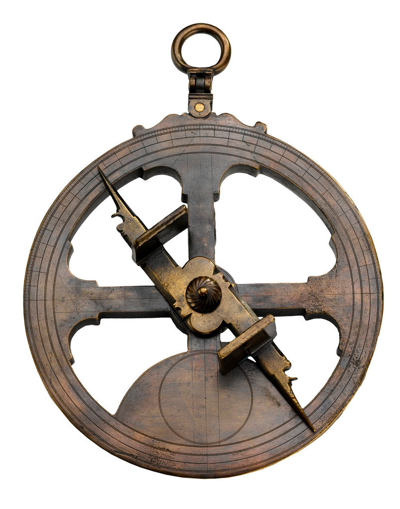 Detail of Mariner's Astrolabe by Peter Shorer