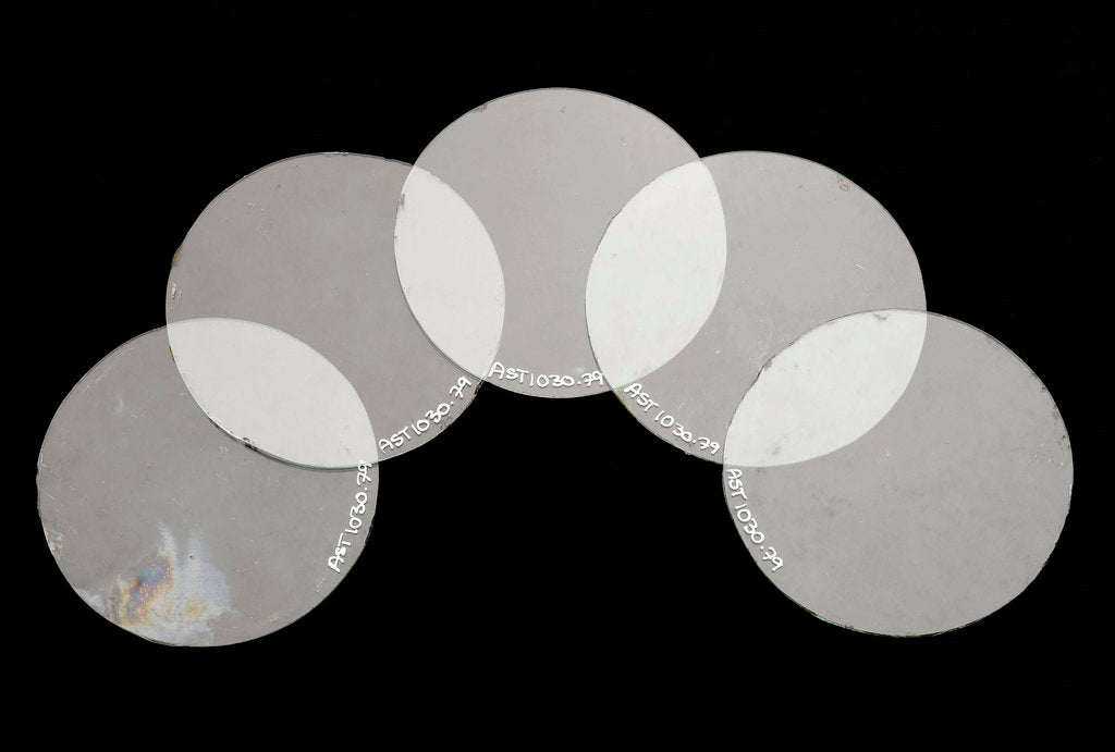 Detail of Five lenses by unknown