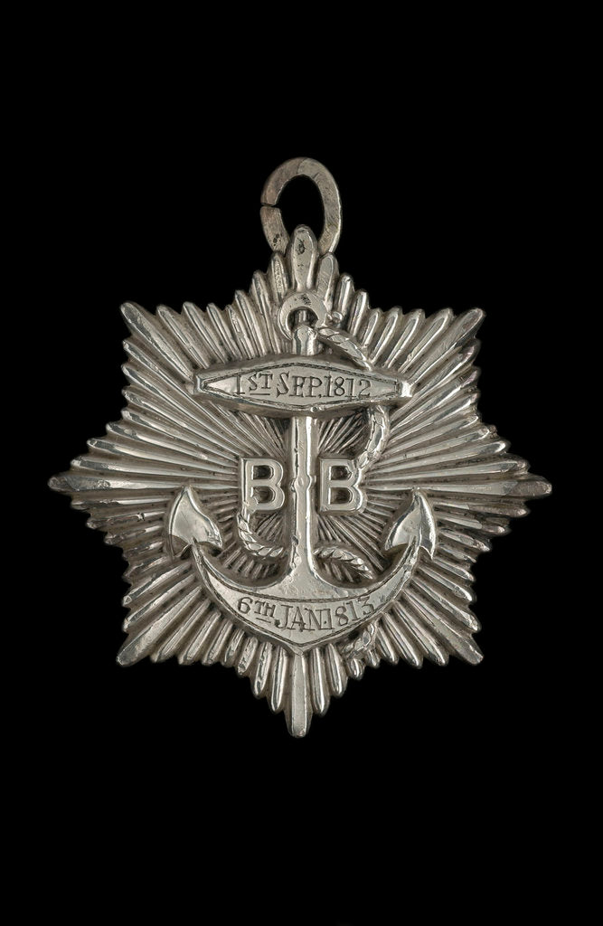 Detail of Silver medal, obverse by unknown