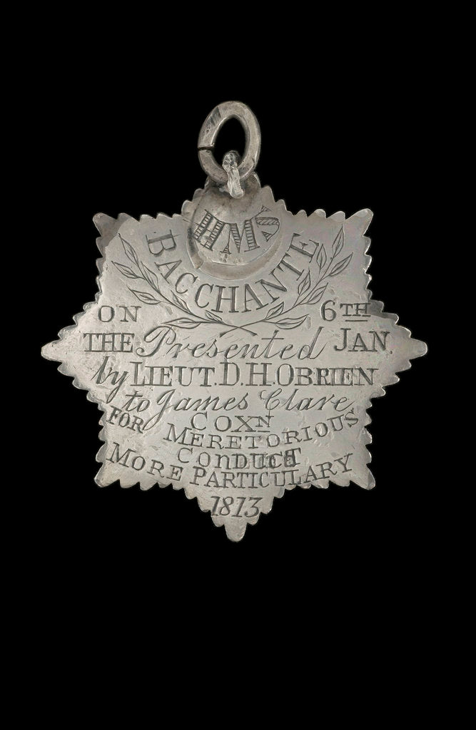Detail of Silver medal, reverse by unknown