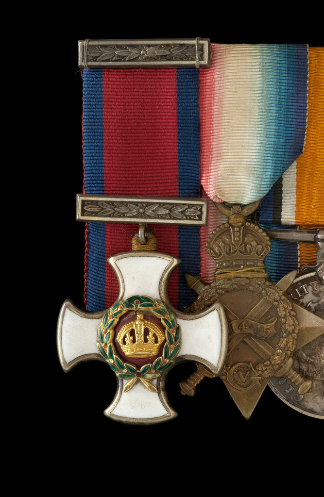 Detail of Distinguished Service Order 1910-1936, obverse by W. Wyon