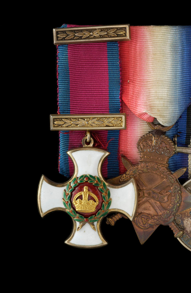 Detail of Distinguished Service Order, obverse by W. Wyon