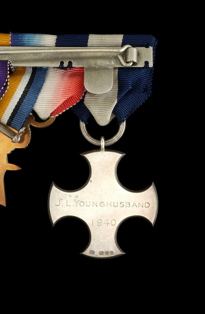 Detail of Distinguished Service Cross 1936-1947, reverse by Garrard & Co.