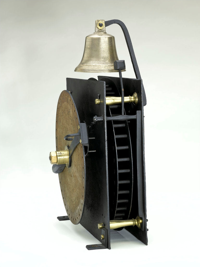 Bell machine, movement by Johann Alexander Herschel