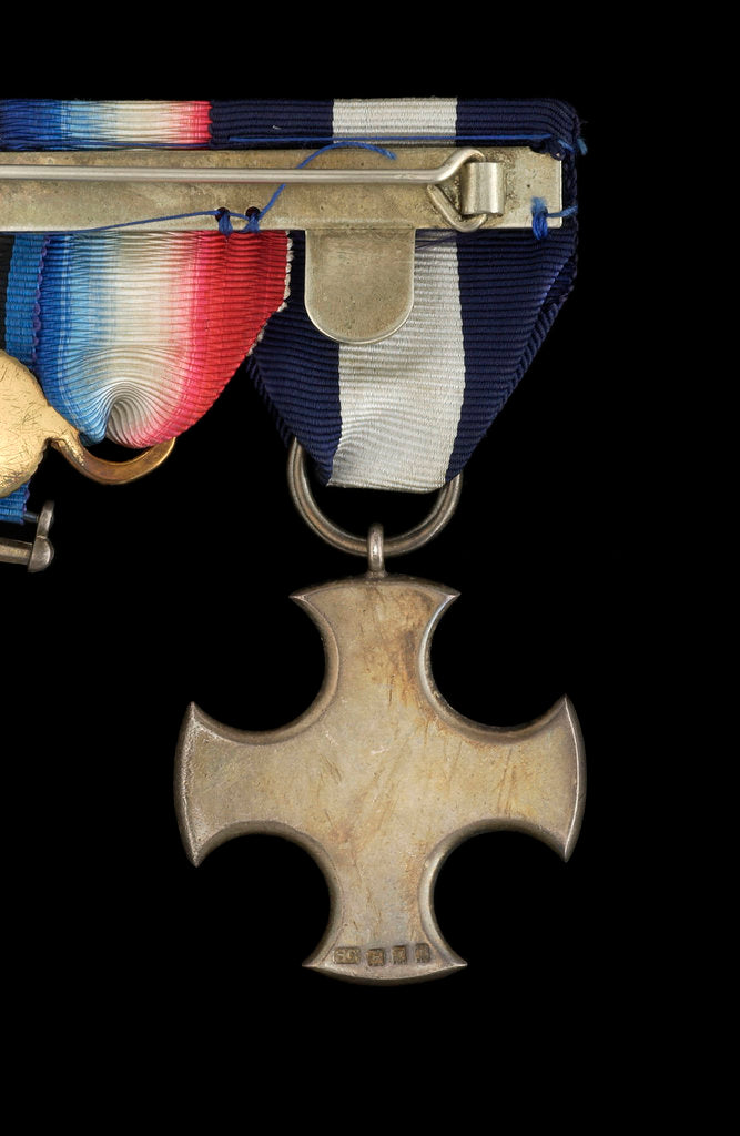 Detail of Distinguished Service Cross 1914-36, reverse by Garrard & Co.