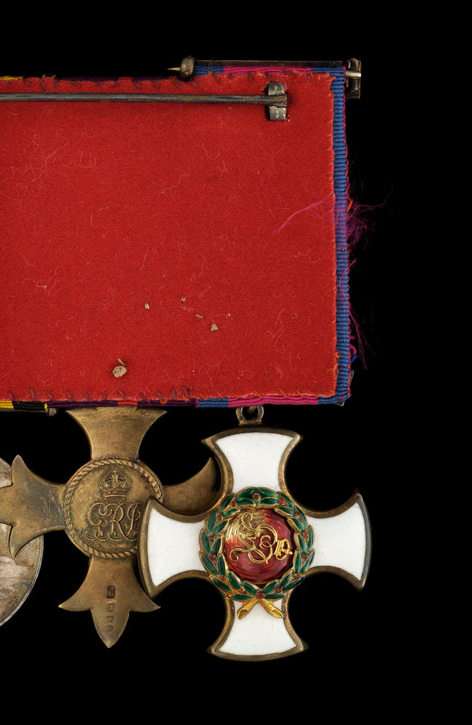 Detail of Distinguished Service Order 1910-1936, reverse by unknown