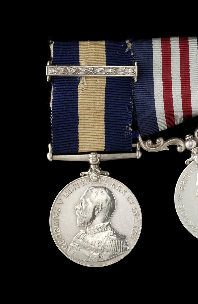 Detail of Conspicuous Gallantry Medal, obverse by B. Mackennal