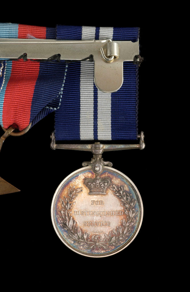 Detail of Distinguished Service Medal 1937-1947, reverse by P. Metcalfe