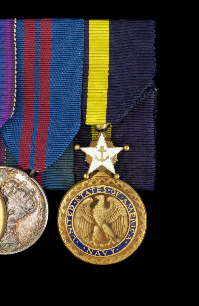 Detail of Navy Distinguished Service Medal, USA, obverse by unknown