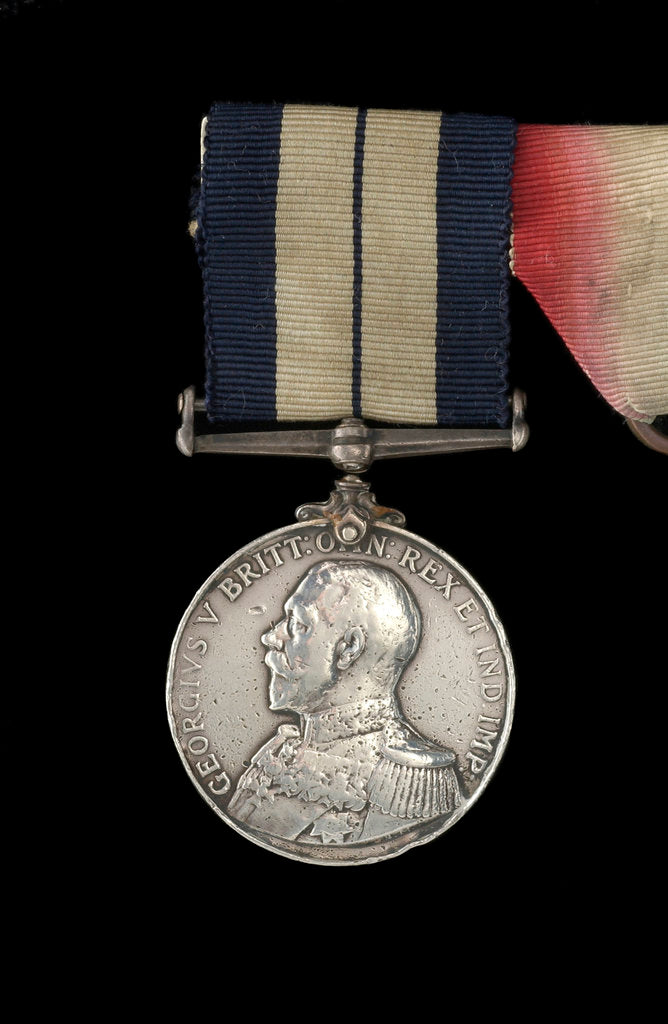 Detail of Distinguished Service Medal 1914-1936, obverse by B. Mackennal