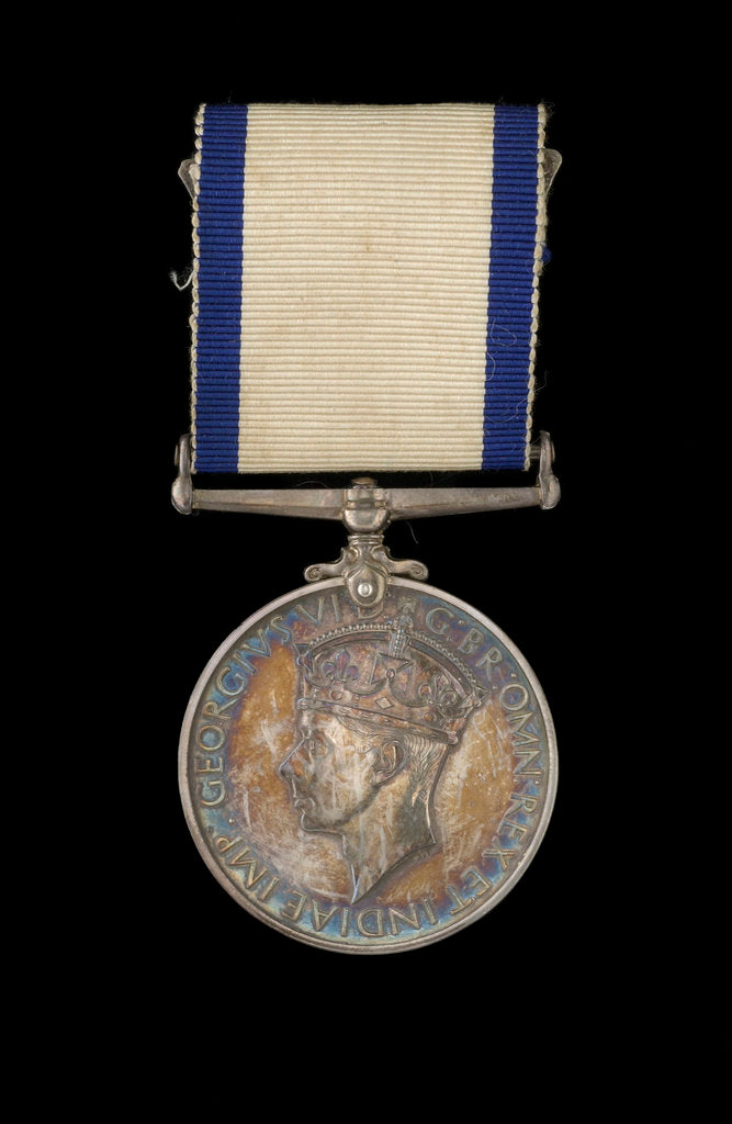 Detail of Conspicuous Gallantry Medal 1937-1947, obverse by P. Metcalfe