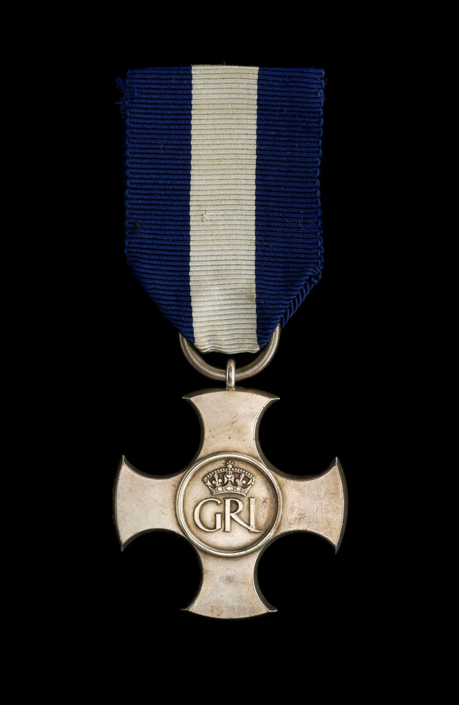 Detail of Distinguished Service Cross 1936-1947, obverse by Garrard & Co.