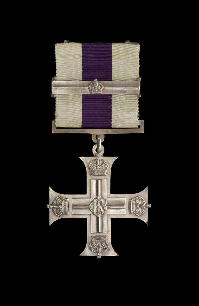 Detail of Military Cross, obverse by unknown