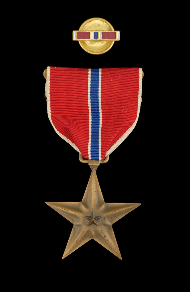 Detail of Bronze Star Medal, obverse by unknown