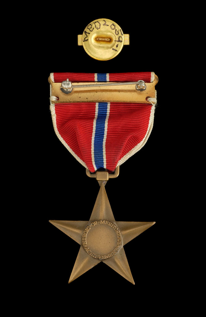 Detail of Bronze Star Medal, reverse by unknown