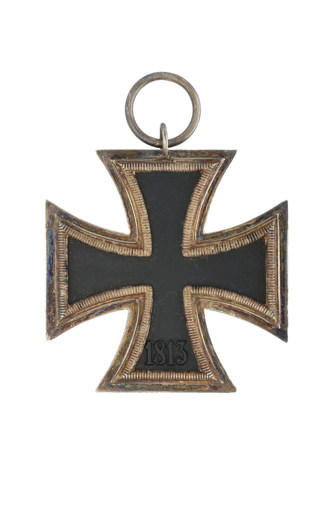 Detail of Iron Cross 2nd Class (military), reverse by unknown