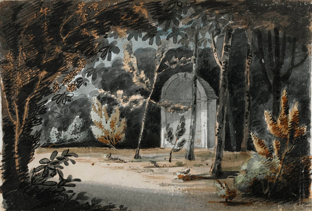 Detail of Merton, July 1803 (recto) by Thomas Baxter