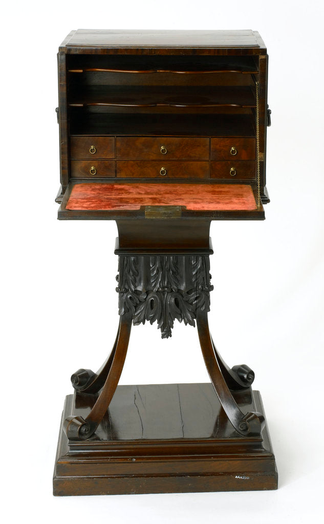 Detail of Writing desk by unknown