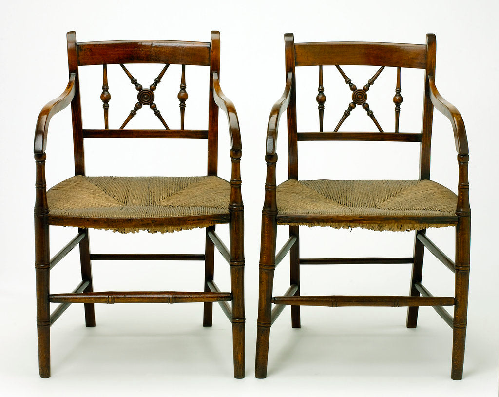 Detail of Two chairs by unknown
