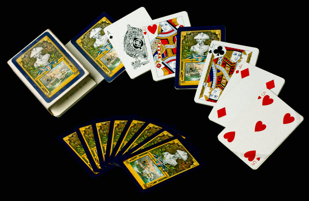 Detail of Playing cards by Charles Goodall & Son Ltd.
