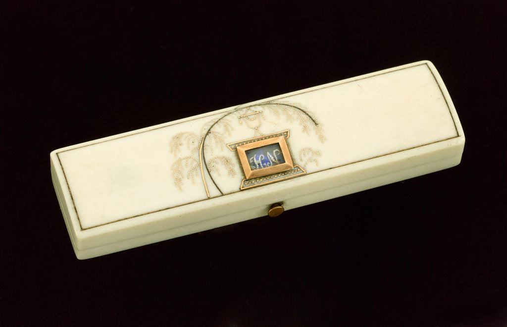 Detail of Toothpick case commemorating Vice-Admiral Horatio Nelson (1758-1805) by unknown