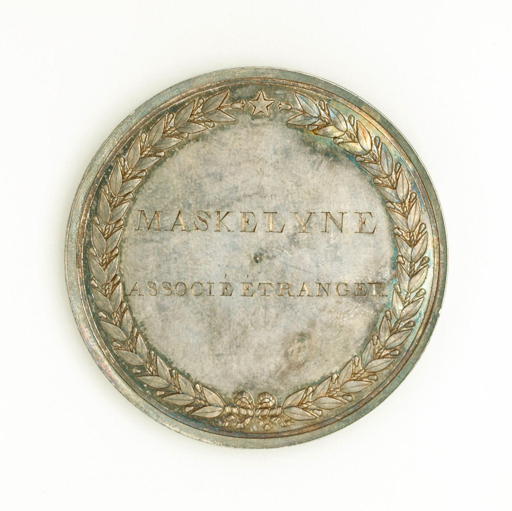 Detail of Prize medal, Institute National des Sciences et des Arts, reverse by Rambert Dumarest