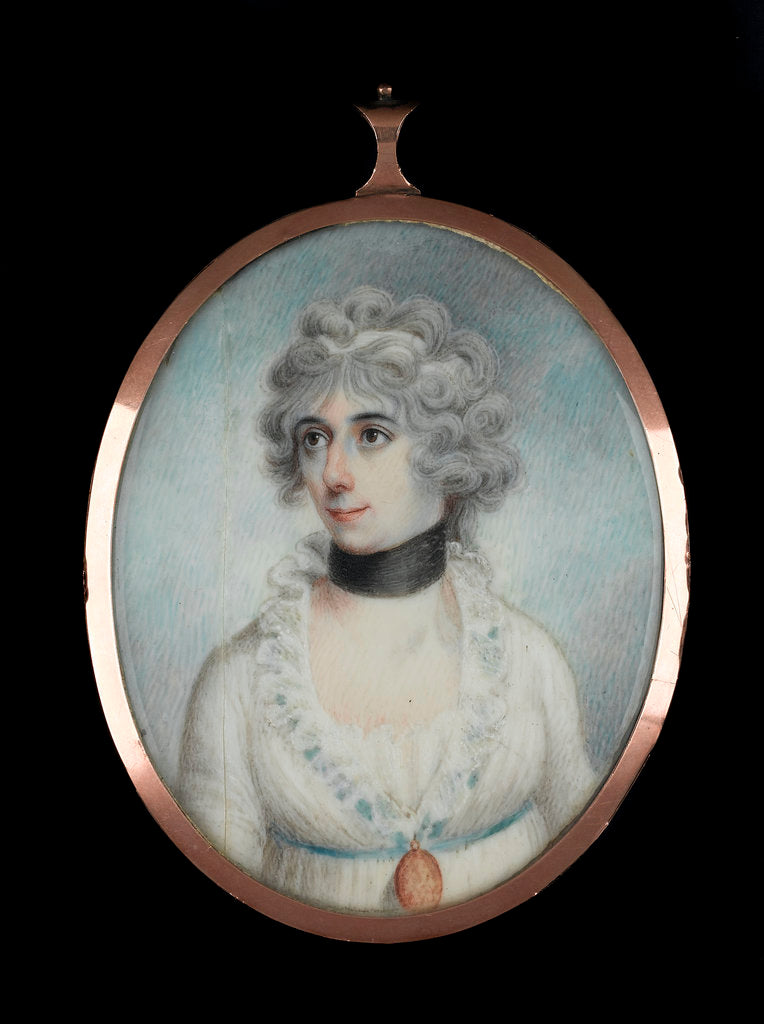 Detail of Unidentified lady (1801-81) by James Holmes