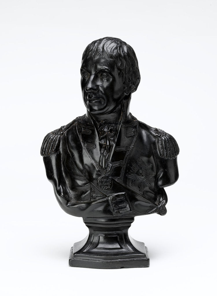 Bust depicting Vice-Admiral Horatio Nelson (1758-1805) by Robert Shout
