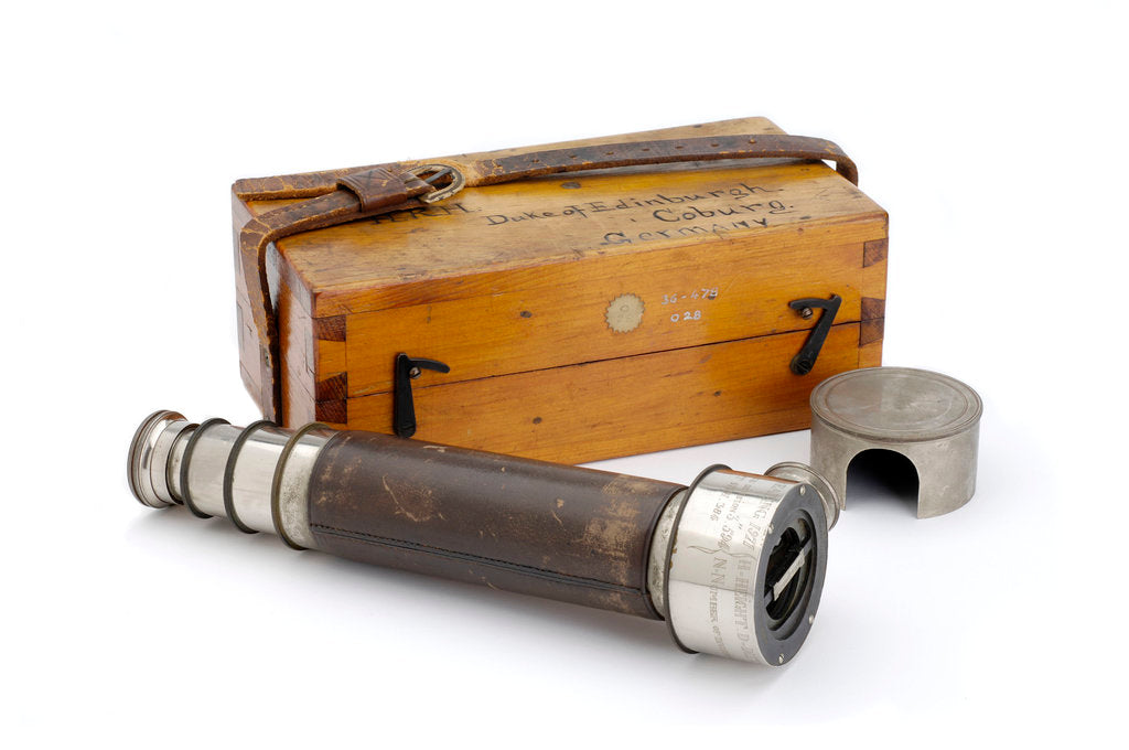 Detail of Rangefinder with case by Edward Kahler