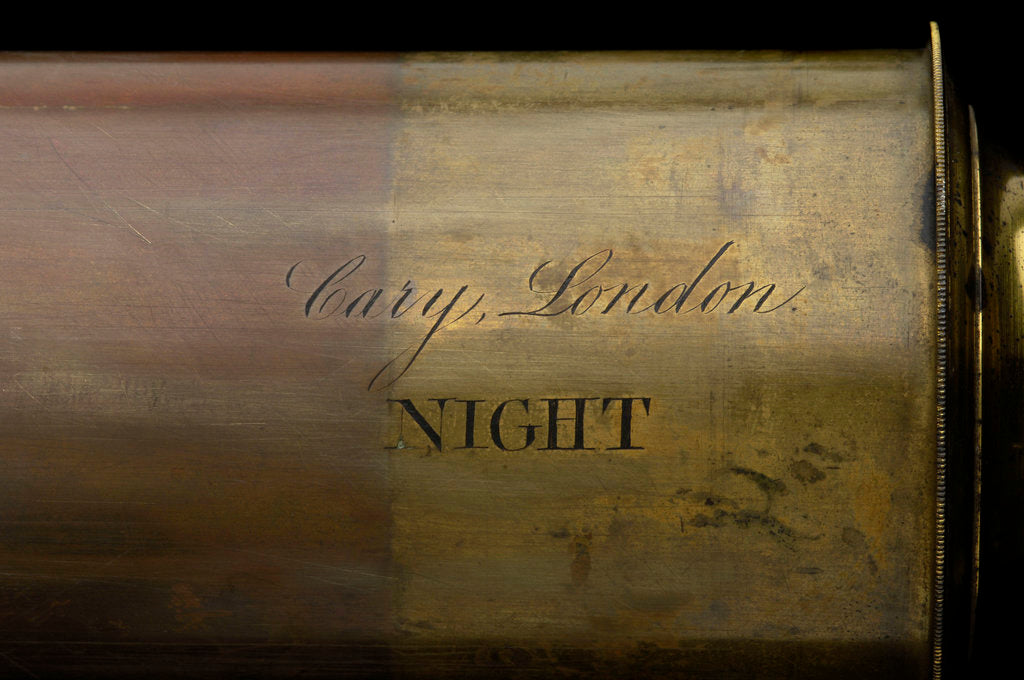 Night telescope - inscription by William Cary