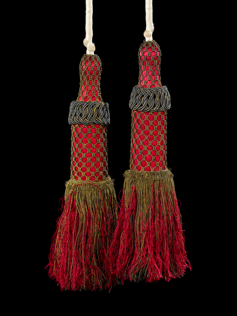 Detail of Robe of Order of the Bath - tassels by John Hunter
