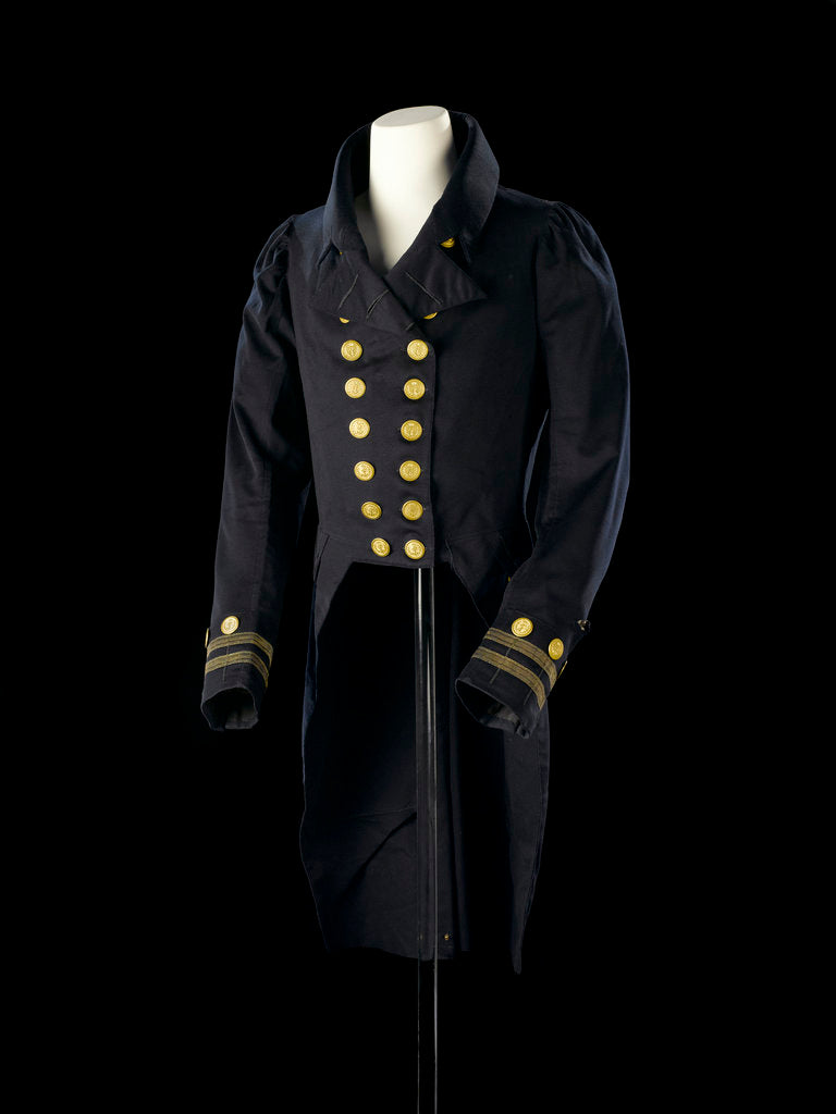 Detail of Undress coat, Royal Naval uniform: pattern 1825-1827 by R. Norton
