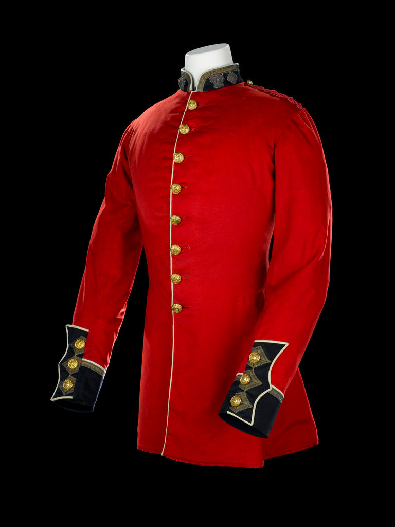Detail of Tunic, Royal Marines Light Infantry uniform: pattern 1856-1863 by J. & C. Linney
