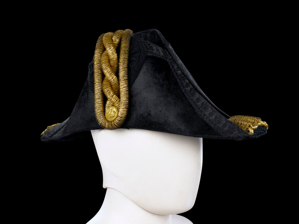 Detail of Cocked hat, Royal Naval uniform: pattern 1843 by John Adams & Son