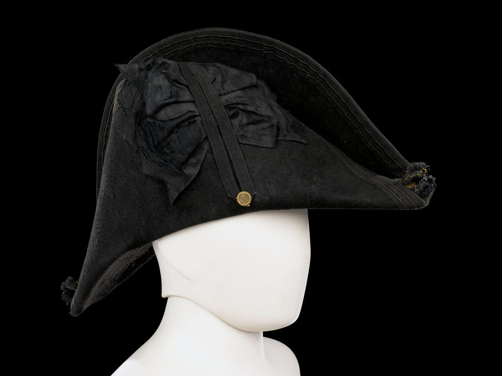 Detail of Cocked hat, Royal Naval uniform: pattern 1825 by unknown