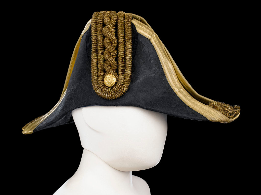 Detail of Cocked hat, Royal Naval uniform: pattern 1843-1879 by Christy's